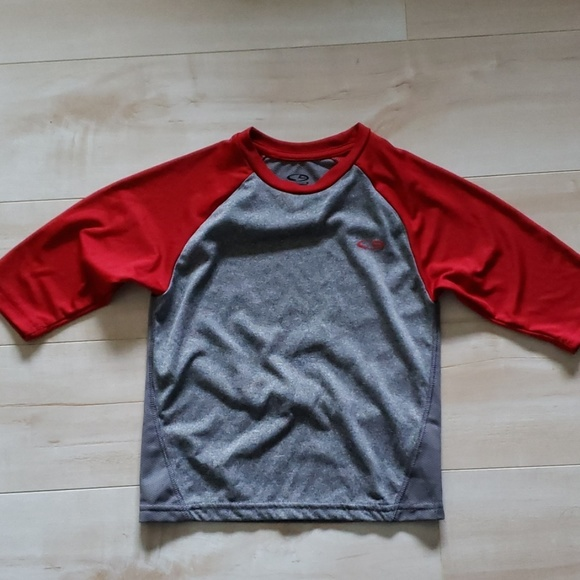 4603b56f Champion Shirts & Tops | Kids 34 Sleeve Sports Baseball Raglan Crew ...